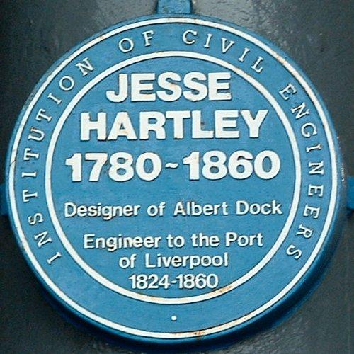 Jess Hartley 1780-1860 plaque
