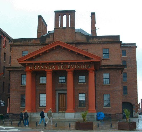 The Granada Television studios - Albert Dock