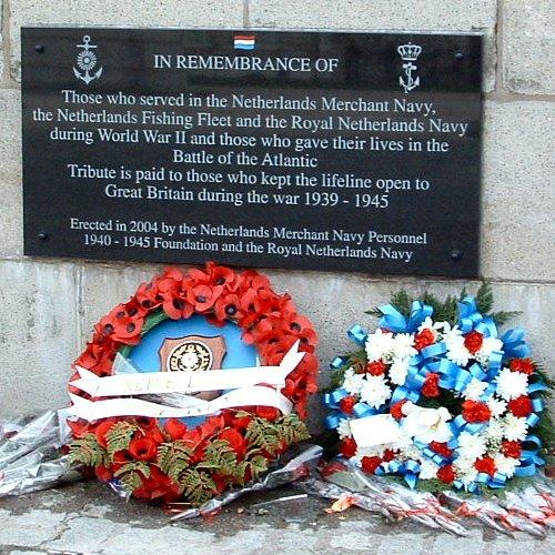 The Netherlands Sailors Memorial - 18th April 2004