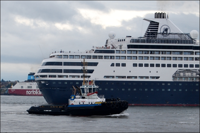 Ms Maasdam on the Mersey