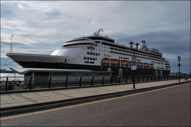 Ms Maasdam on the Mersey