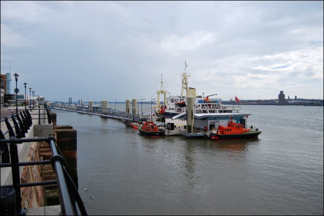 THV Patricia on the Mersey