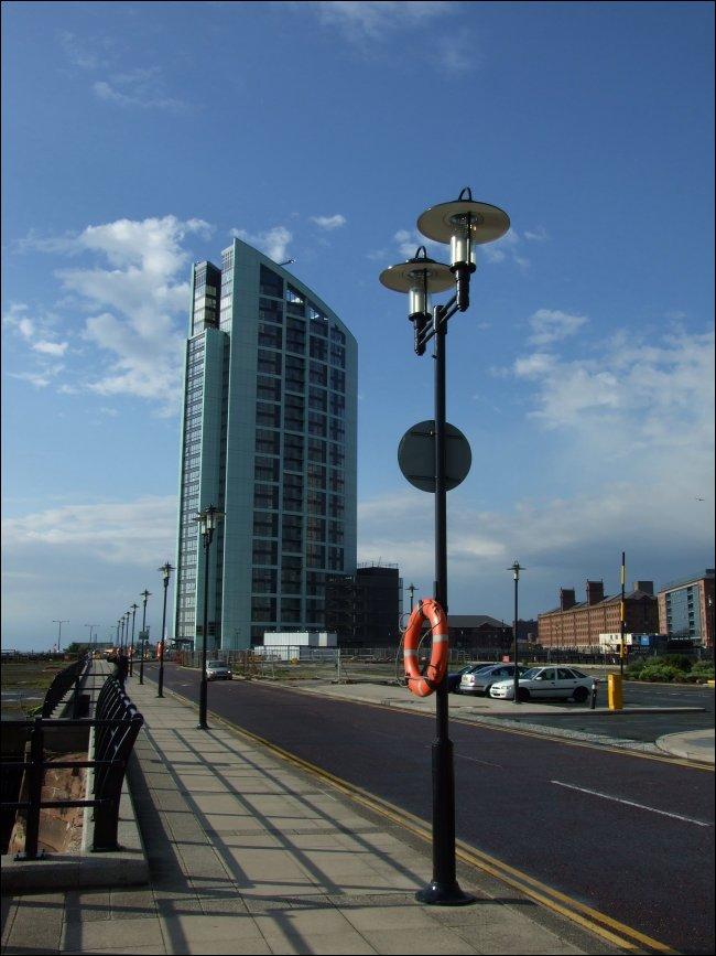 The Saga Rose visits Liverpool