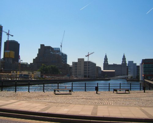 The Prince's Dock in Liverpool