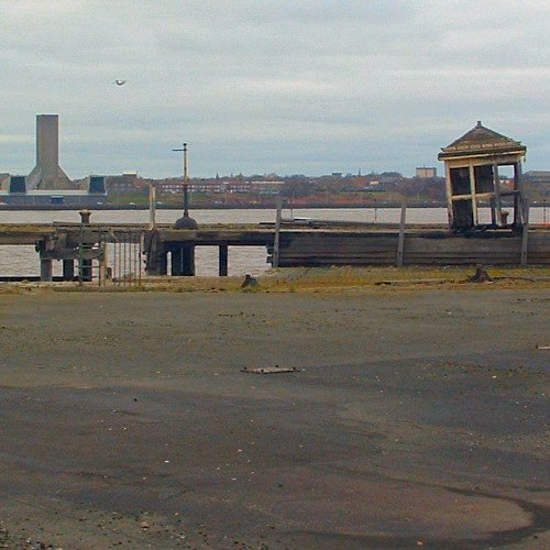 The Princes Dock in Liverpool