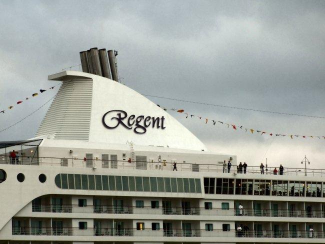 Seven Seas Voyager visits Liverpool