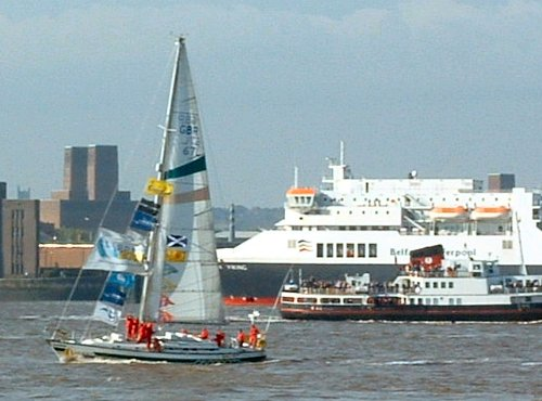 The Glasgow Clipper on the Mersey
