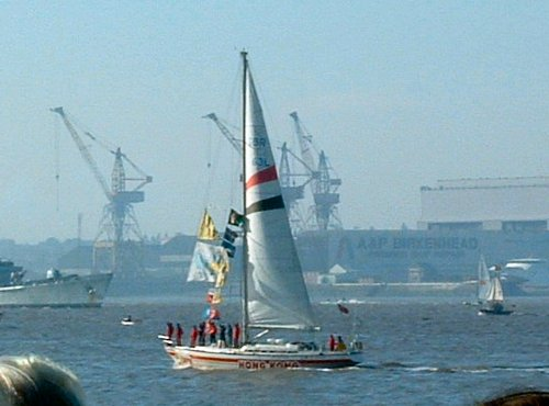 The Hong Kong Clipper on the Mersey