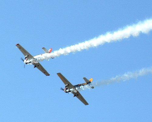 The Yakovlevs Aerial Display