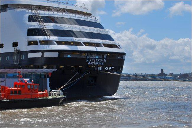 MS Rotterdam on the Mersey