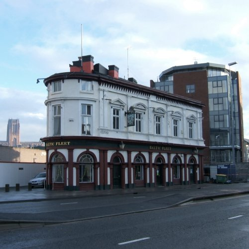 The Baltic Fleet on Wapping