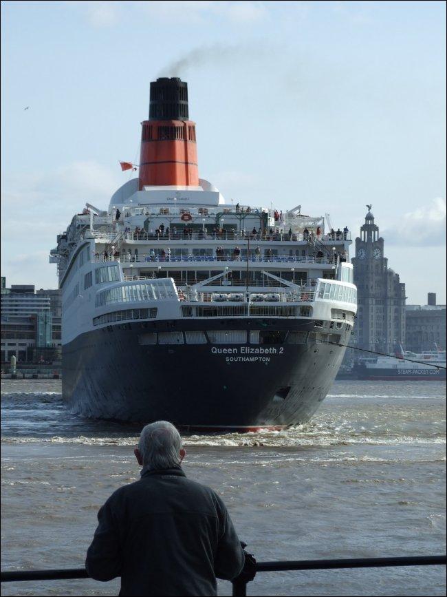 The Cunard Liner Queen Elizabeth 2