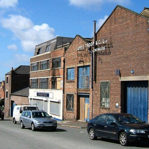 Hill Street off Sefton Street - South Liverpool 3rd April 2006