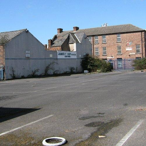 James Troop car park on Caryl Street - South Liverpool 3rd April 2006