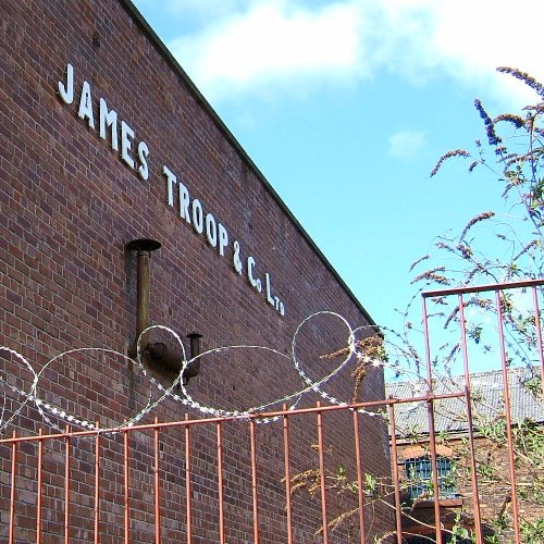 James Troop building on Hill Street - South Liverpool 3rd April 2006