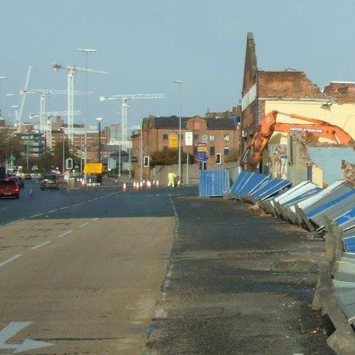 Sefton Street - South Liverpool 3rd December 2006
