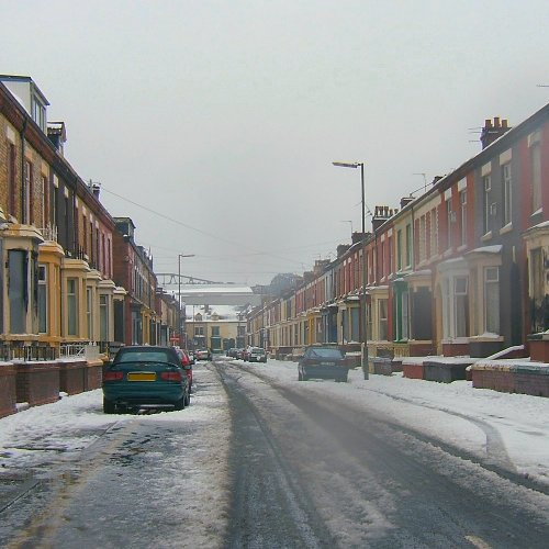 Anfield in the snow - 12th March 2006