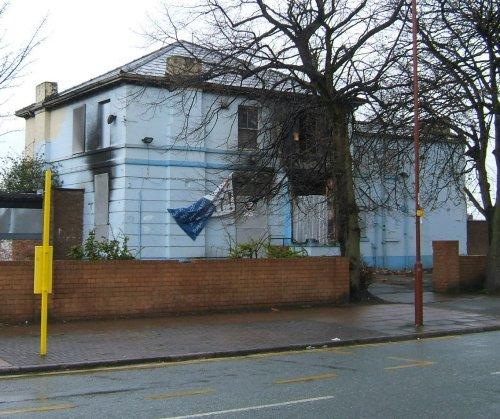 The Banksy in Garston - 29th April 2006