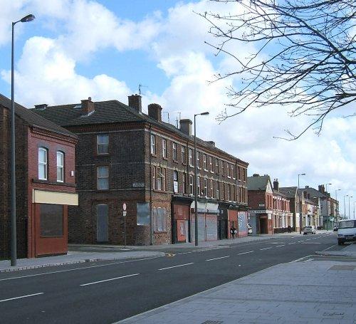 Looking along Mill Street