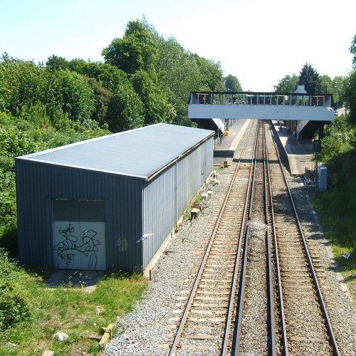 Garston railway station - 10th June 2006