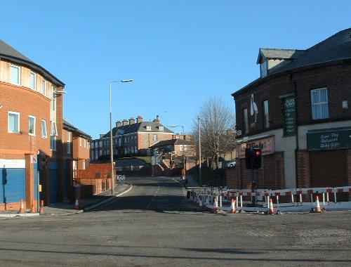 Church Road - Garston Village 29th February 2004