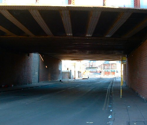 Church Road - Under the Bridge 29th February 2004