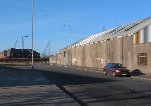 Under the Bridge in Garston - Dale Street 29th February 2004