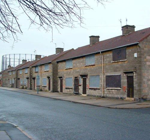 Under the Bridge in Garston - King Street 6th February 2005