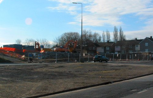 Woolton Road in Garston Village - 29th February 2004