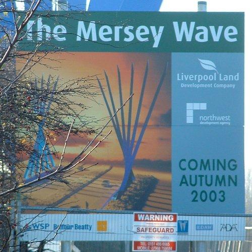 The Wave sign on Speke Boulevard - 23rd November 2003