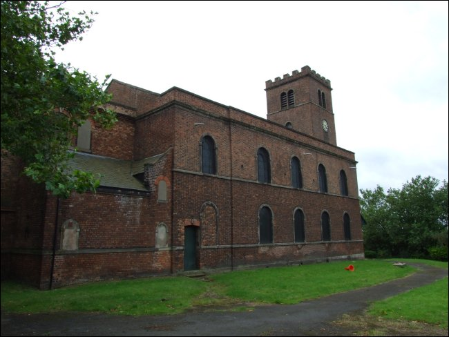 St James Church in Toxteth