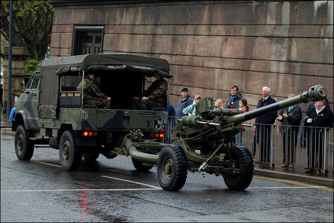 Remembrance Sunday in Liverpool 2009