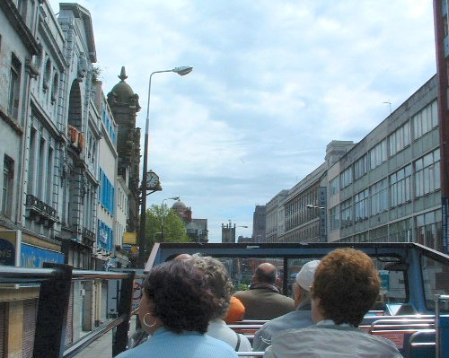 Looking along Lime Street