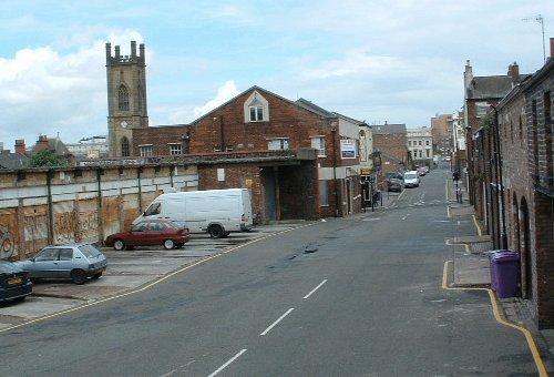 Looking along Roscoe Street