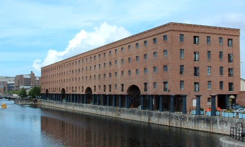 The Wapping Dock warehouse